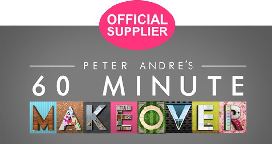 Official Supplier of Peter Andre`s 60 Minute Makeover