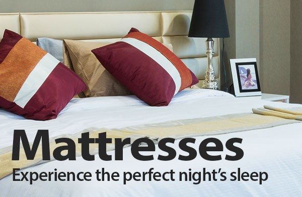 Mattresses - Experience the perfect nights sleep