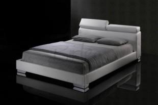 Birlea Signature 5ft Kingsize White Faux Leather Bed Frame