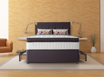 Sealy Puglia 2600 Pocket 4ft6 Double Divan Bed