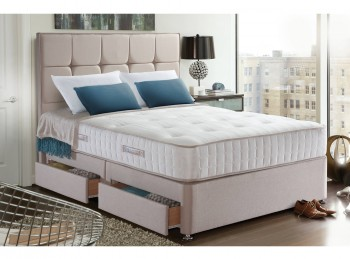 Sealy Palermo 1400 Pocket 3ft Single Divan Bed