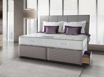 Sealy Pearl Ortho 3ft6 Large Single Divan Bed