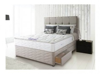 Sealy Pearl Firm 6ft Super Kingsize Divan Bed