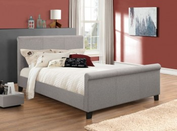 Birlea Hudson 4ft6 Double Grey Fabric Bed Frame