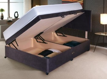 Vogue 6ft Super Kingsize Side Lift Ottoman Bed Base (Choice Of Colours)