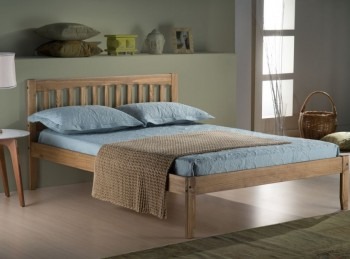 Birlea Porto 4ft Small Double Pine Wooden Bed Frame