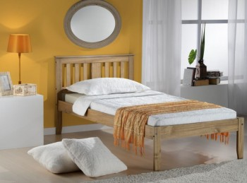 Birlea Salvador 3ft Single Pine Wooden Bed Frame