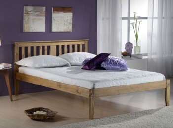 Birlea Salvador 4ft Small Double Pine Wooden Bed Frame