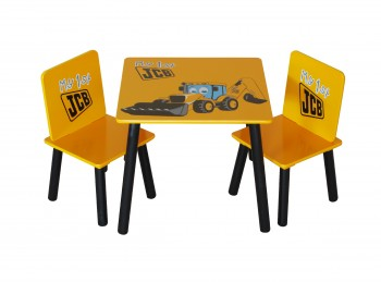 Kidsaw JCB Table with 2 Chairs