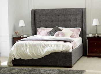 Limelight Aquila 4ft6 Double Slate Fabric Bed Frame