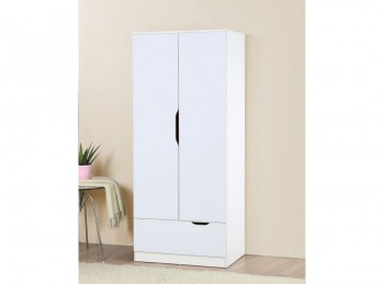 Birlea Paddington Wardrobe White and Oak