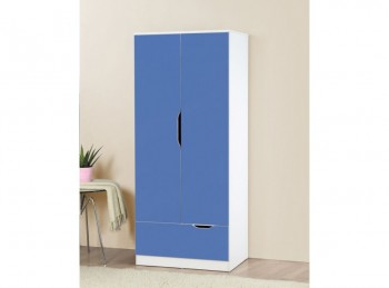 Birlea Paddington Wardrobe White and Blue