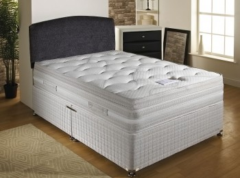 Dura Bed Panache 4ft Small Double Divan Bed Open Coil Springs