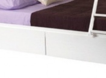 Sweet Dreams Epsom White Under Bunk Drawers