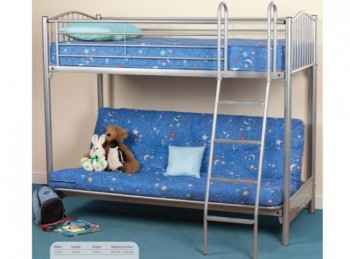 Sweet Dreams Garnet Metal Bunk Bed Frame