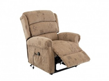 Birlea Manhattan Fabric Rise And Recline Chair