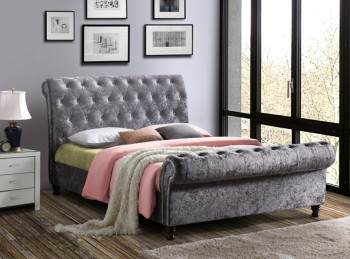 Birlea Castello 6ft Super Kingsize Steel Fabric Bed Frame