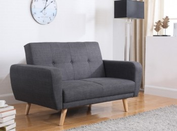 Birlea Farrow Grey Fabric Sofa Bed