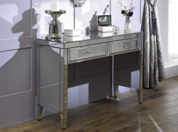 Birlea Valencia 2 Drawer Mirrored Sideboard