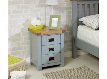 Birlea New Hampshire Grey Bedside