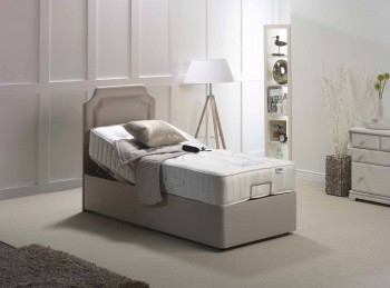 Furmanac Mibed Zelda 3ft6 Large Single 1200 Pocket With Memory Electric Adjustable Bed