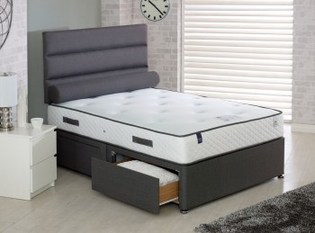 Vogue Countess 1000 Pocket And Blu Cool Memory 4ft Small Double Bed