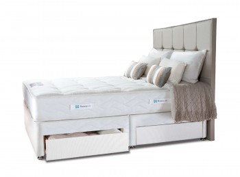 Sealy Pearl Elite 3ft6 Large Single Divan Bed