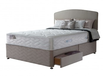 Sealy Casoli Latex 1200 Pocket 4ft6 Double Divan Bed
