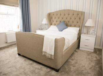 Flair Furnishings Farnhill 4ft6 Double Fabric Bed Frame
