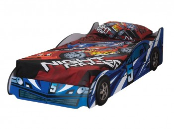 Sweet Dreams Formula Blue 3ft Single Car Bed