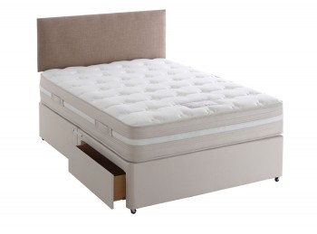 Dura Bed Georgia 3ft Single Divan Bed Open Coil Springs