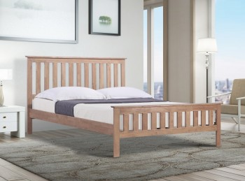 Emporia Hardwood 4ft6 Double Bed Frame