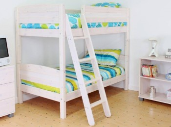 Thuka Trendy Shorty E Bunk Bed With Slanting Ladder