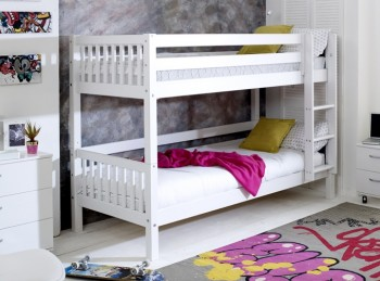Flexa Nordic Bunk Bed 1 With Slatted End Panels