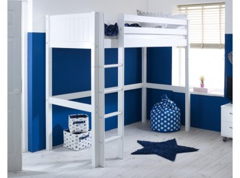Flexa Nordic Highsleeper Bed 1 With Grooved End Panels