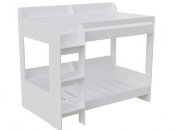 Kidsaw Ariel White Wooden Bunk Bed