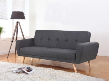 Birlea Farrow Large Grey Fabric Sofa Bed