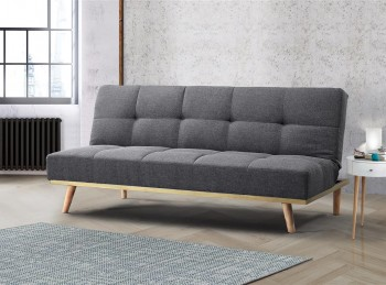 Birlea Snug Grey Fabric Sofa Bed
