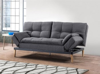 Birlea Squish Grey Fabric Sofa Bed