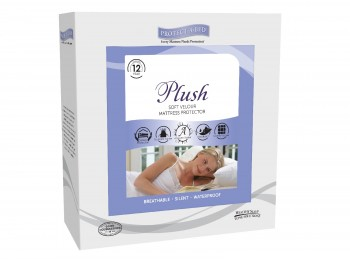 Protect A Bed Plush 3ft Single Mattress Protector