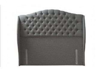 Sealy Richmond 6ft Super Kingsize Fabric Headboard (Choice Of Colours)