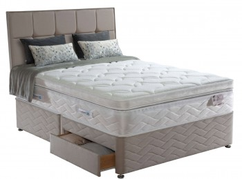 Sealy Palatine Latex 2500 Pocket 3ft Single Divan Bed