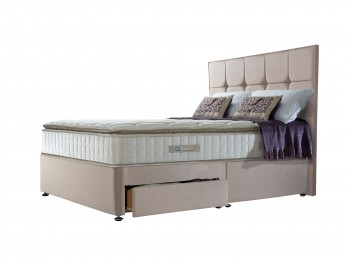 Sealy Nostromo Latex 1400 Pocket 5ft Kingsize Divan Bed
