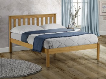 Birlea Denver 4ft Small Double Pine Wooden Bed Frame