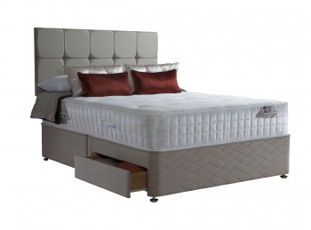 Sealy Antonio 1300 Pocket With Geltex 6ft Super Kingsize Divan Bed