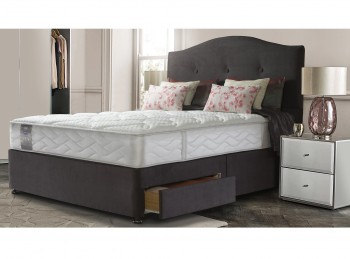 Sealy Pearl Wool 4ft6 Double Divan Bed