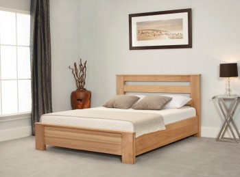 Emporia Heartwood 4ft6 Double Solid Oak Bed Frame