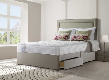 Sealy Activsleep Comfort Pocket Memory 2400 6ft Super Kingsize Divan Bed