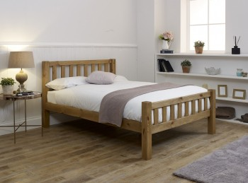 Limelight Astro 3ft Single Pine Wooden Bed Frame