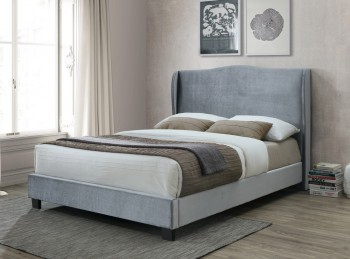 Birlea Dover 4ft Small Double Silver Fabric Bed Frame